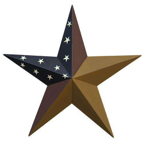 "Colonial Barn Star, 18"" HS Stars CWI+"