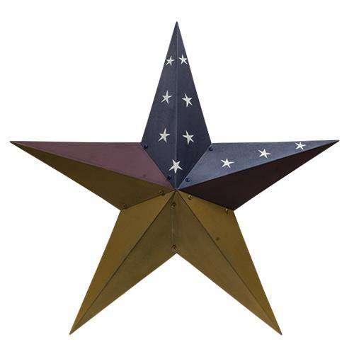 "Colonial Barn Star, 36"" Stars CWI+"