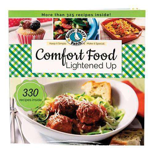 Comfort Food Lightened Up Cookbooks CWI+