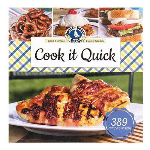 Cook it Quick Recipe Book General CWI+