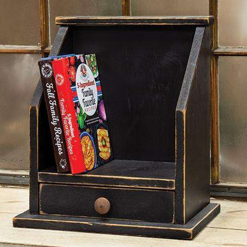 Cookbook Cubby, Black Kitchen Accessories CWI+