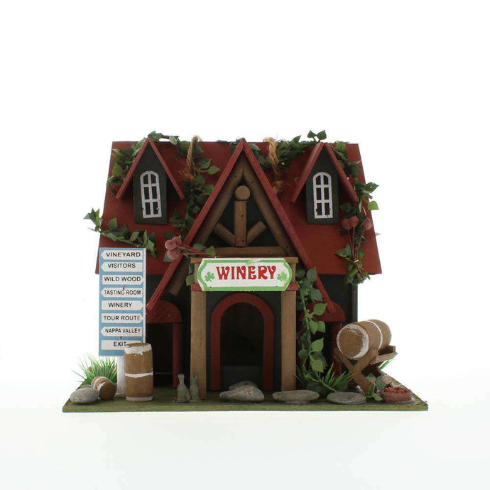 Cottage Winery Bird House Accent Plus