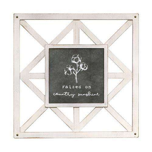 Country Sunshine Wall Art Farmhouse Signs CWI+