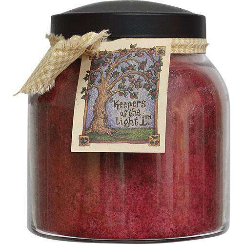 Cranberry Orange Papa Jar Candle, 34oz Jar Candles CWI+
