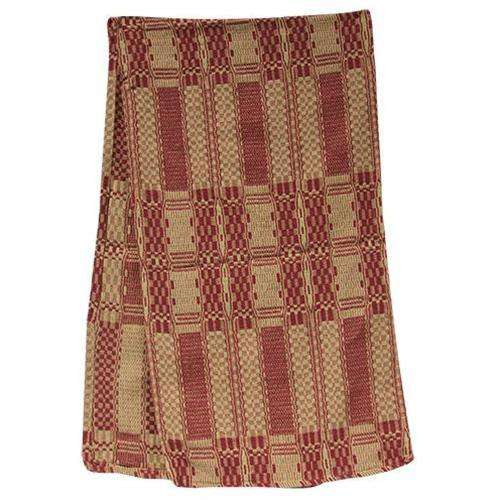 Cranberry & Tan Long Runner Tabletop CWI+