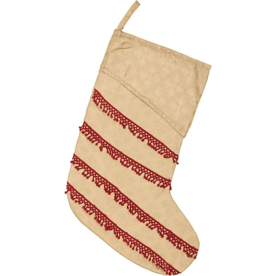 Revelry Jacquard Stocking 11x15 VHC Brands