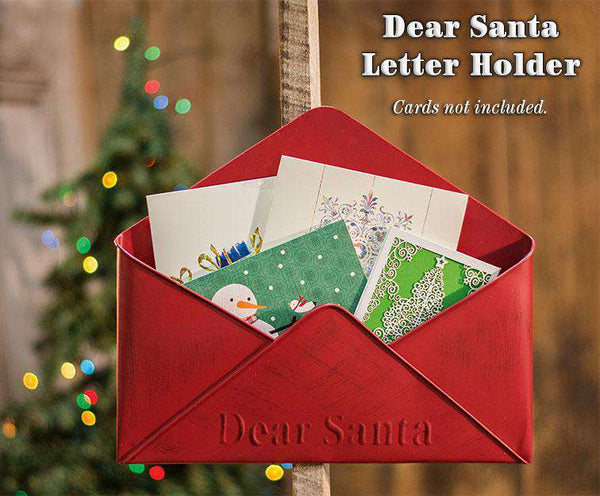 Dear Santa Letter Holder Mail and Post Boxes CWI+