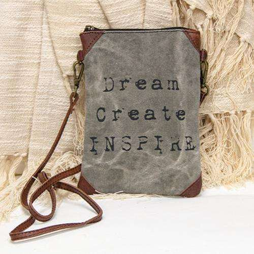 Dream, Create, Inspire Small Crossbody General CWI+