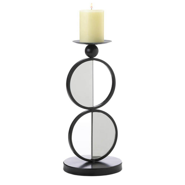 Duo Mirrored Candle Holder