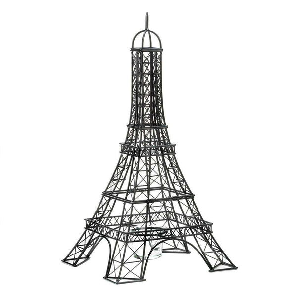 Eiffel Tower Candle Holder Accent Plus