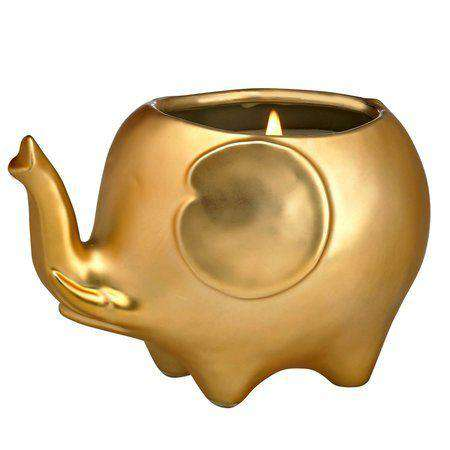Elephant Candle - Matte Gold candles CWI+