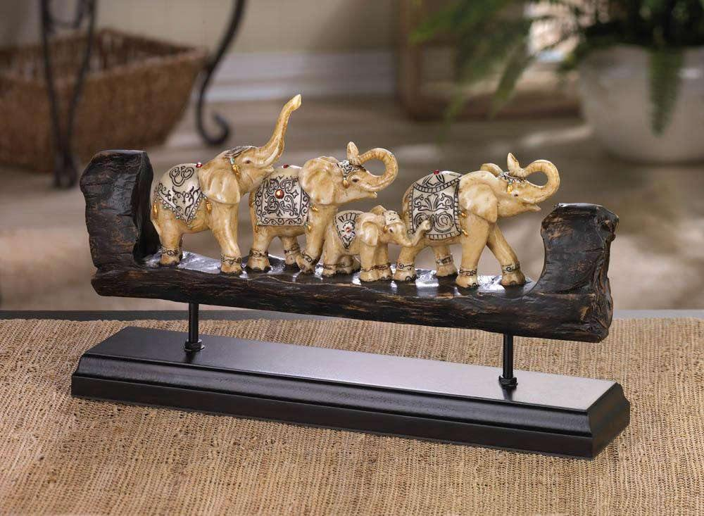 Elephant Family Decor