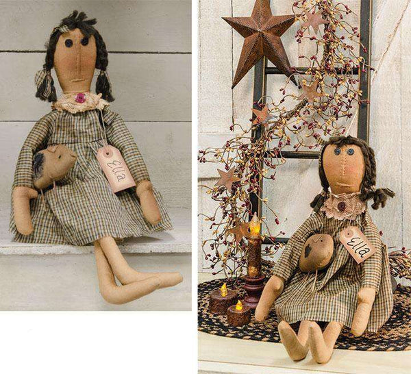 Ella Doll Country Dolls & Chairs CWI+