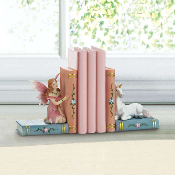 Enchanted Fairy Tale Bookends Dragon Crest