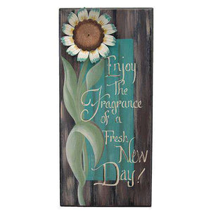 Enjoy the Fragrance Sign Tabletop & Decor CWI+