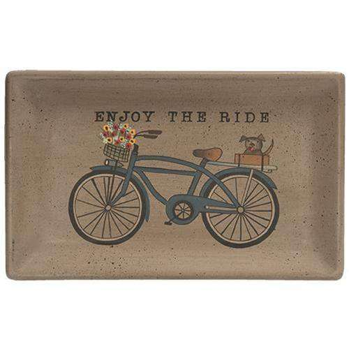 Enjoy the Ride Tray Plates & Holders CWI+