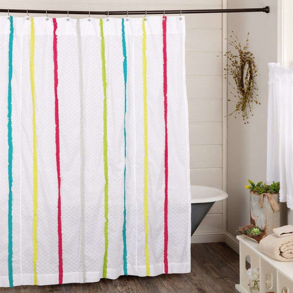 "Everly Shower Curtain 72""x72"" curtain VHC Brands"