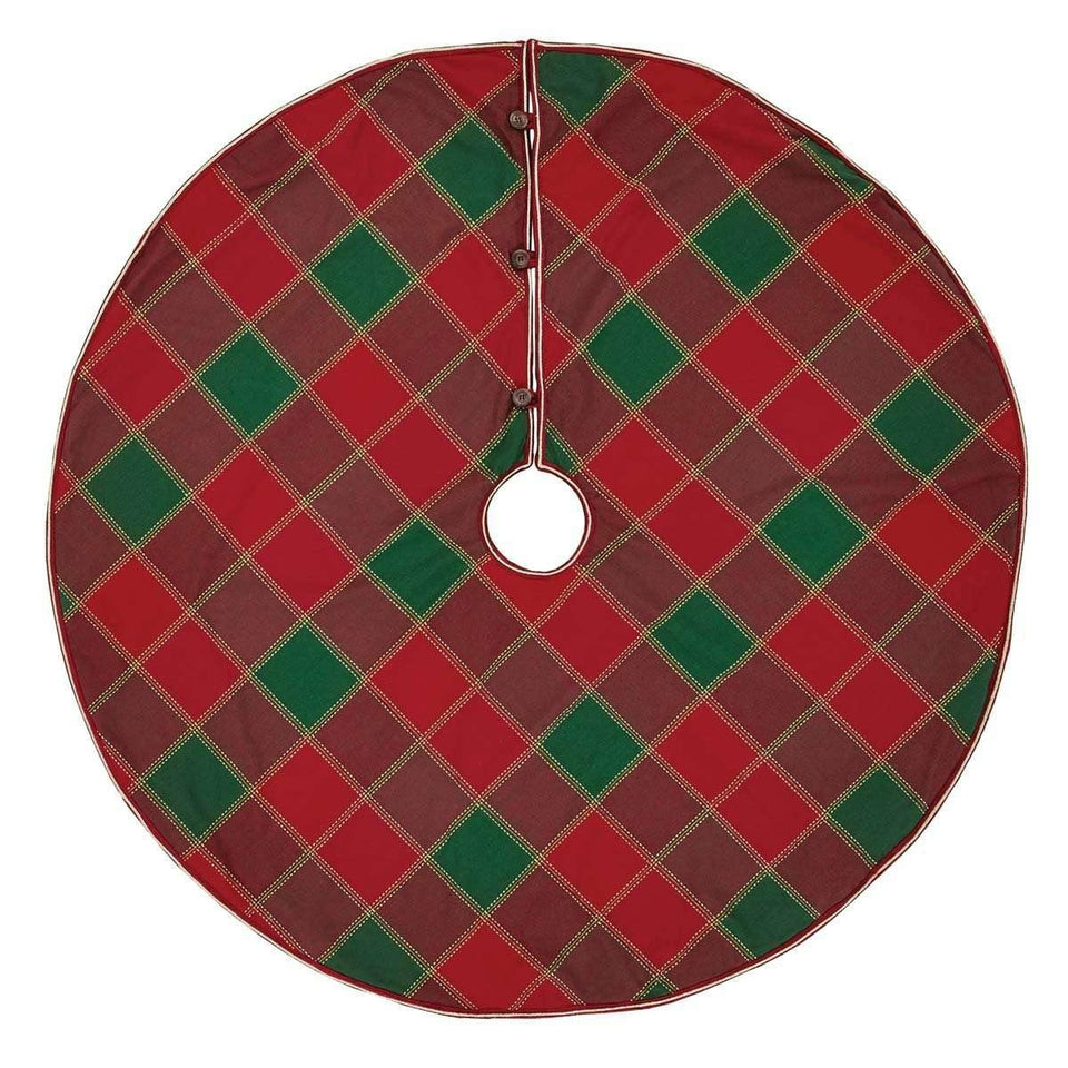 Tristan Christmas Tree Skirt 48 VHC Brands