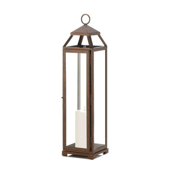 Extra Tall Copper Lantern