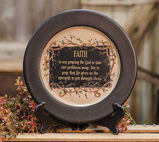 Faith & Vine Plate Plates & Holders CWI+