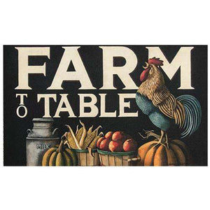 Farm to Table Floor Mat Rugs CWI+