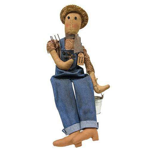 Farmer Jones Doll Farmhouse Decor CWI+