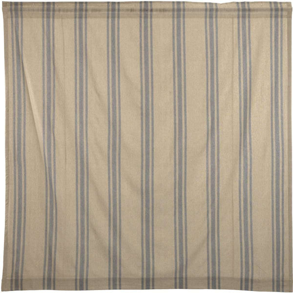 "Farmer's Market Grain Sack Stripe Shower Curtain 72""x72"" curtain VHC Brands"