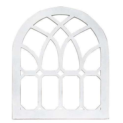 ^Farmhouse Emerald Cathedral Window Farmhouse Decor CWI+