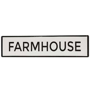 Farmhouse Enamel Sign Farmhouse Decor CWI+