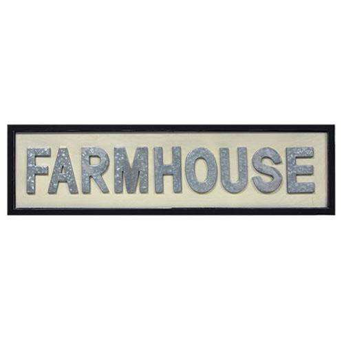 Farmhouse Framed Sign Pictures & Signs CWI+