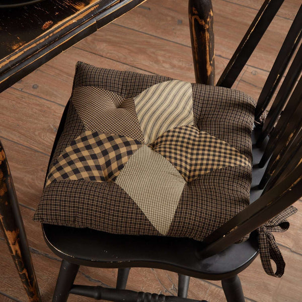Farmhouse Star Country Chair Pad Chair Pad VHC Brands