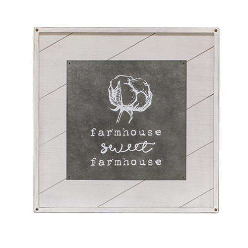 Farmhouse Sweet Farmhouse Wall Art Farmhouse Signs CWI+