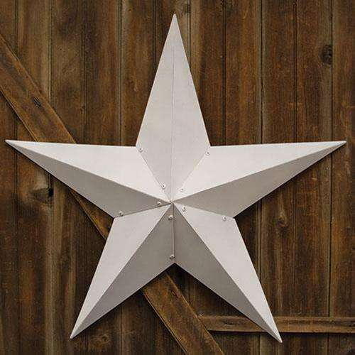 "Farmhouse White Barn Star, 48"" Barn Stars CWI+"