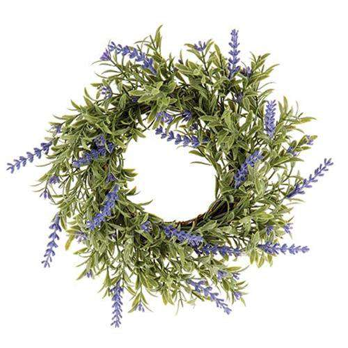 English Lavender Wreath - The Fox Decor