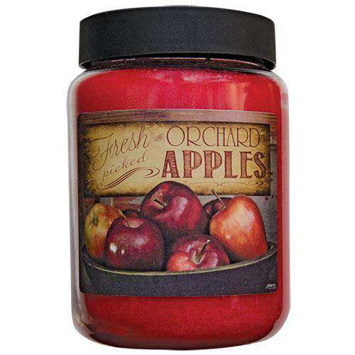 Fresh Apple Jar Candle, 26oz Fall Country Sampler CWI+