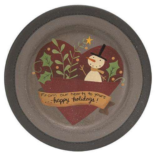 From Our Hearts to Yours Plate Plates & Holders CWI+