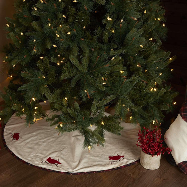 Seasons Greetings Tree Skirt 48