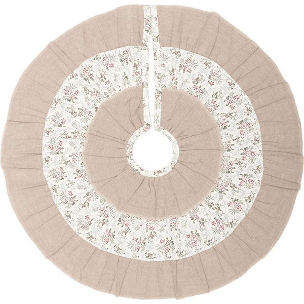 Carol Mini Christmas Tree Skirt 21 VHC Brands