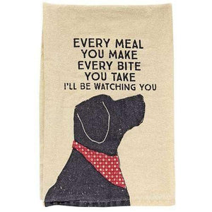 I'll Be Watching You Kitchen Dish Towel