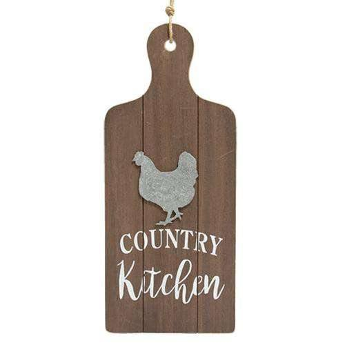Country Kitchen Cutting Board Wall Hanger