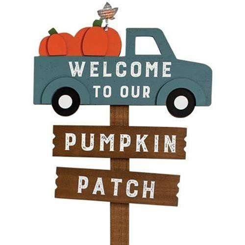 Welcome to our Pumpkin Patch Stake zoom