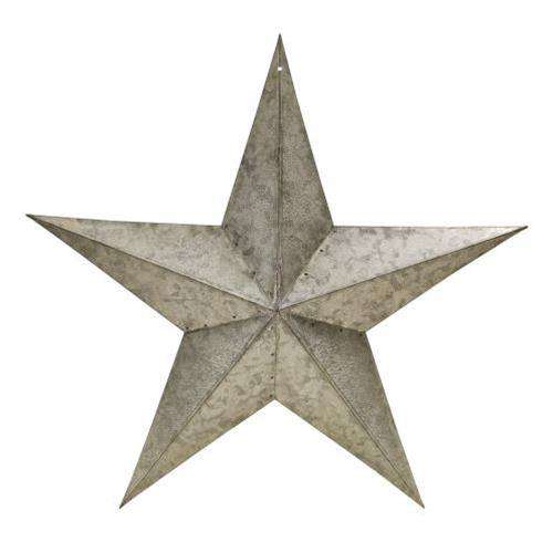 "Galvanized Barn Star - 18"" Americana Best Sellers CWI+"