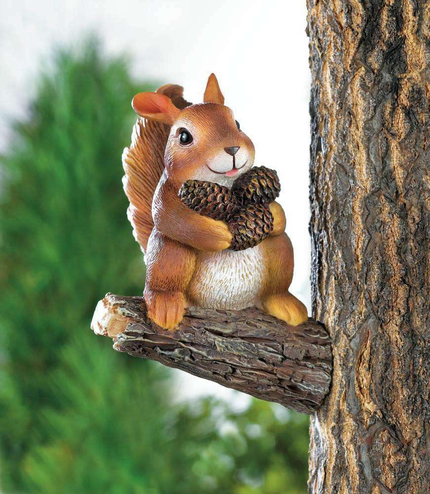 Gathering Squirrel Tree Decor