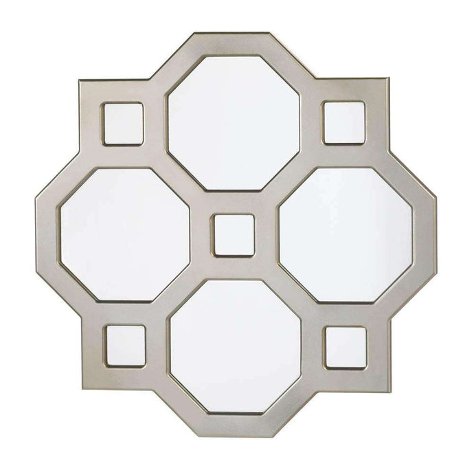 Geometric Decorative Wall Mirror Accent Plus
