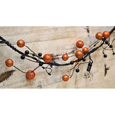 Glitter Spooky Berry Garland Fall CWI+