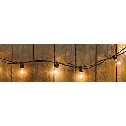 ^^Globe Light Strand, 25ct Vintage Lighting CWI+