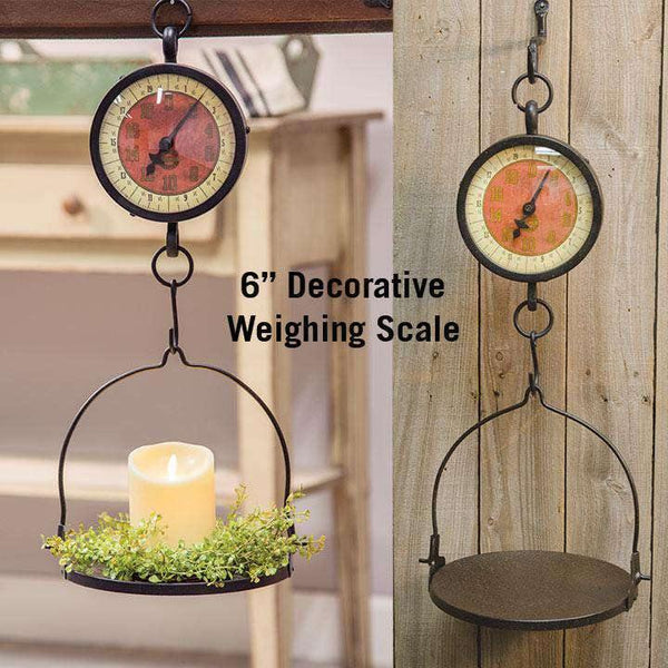 Decorative Weighing Scale, 6""
