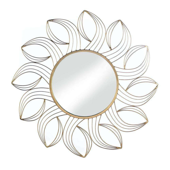 Golden Petals Wall Mirror Summerfield Terrace