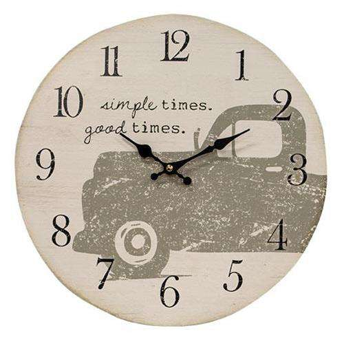 Good Times Decorative Clock with Truck wall clocks CWI+