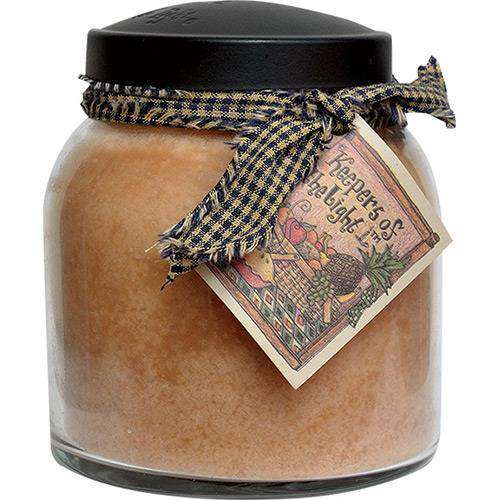 Gourmet Sugar Cookie Papa Jar Candle, 34oz Jar Candles CWI+